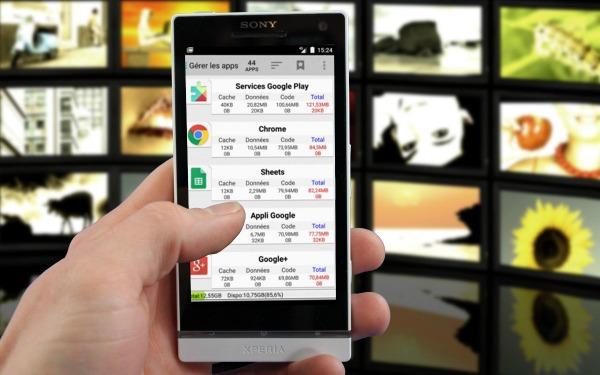 Application android pour déplacer des fichiers sur une carte SD