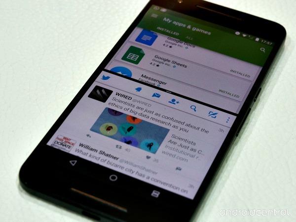 Le mode multi-fenêtre sous Android 7.0 Nougat