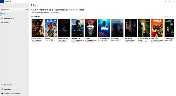 Acheter ou louer un film