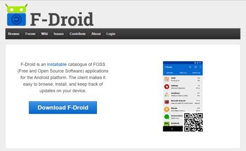 image du site f-DROID