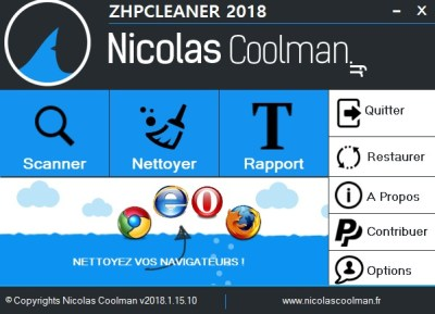 ZHP Cleaner 2018