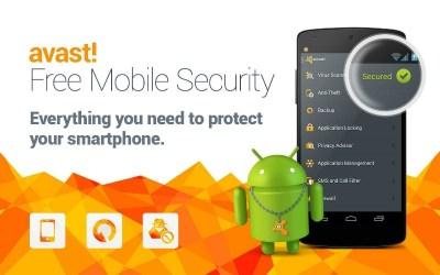 Avast pour Android, célèbre antivirus
