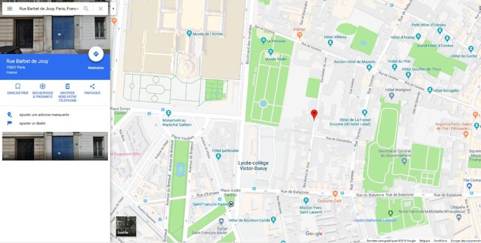 Recherche Google Maps