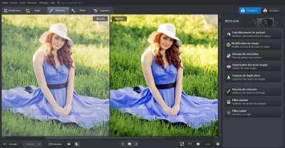 Image à la une du logiciel de retouche d'image Photoworks