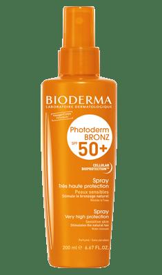 Photoderm bronz Bioderma 50+ lait - Se protéger et bronzer efficacement - Mon peau de Crème