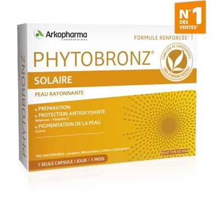 Phytobronz-solaire- Mon peau de crème