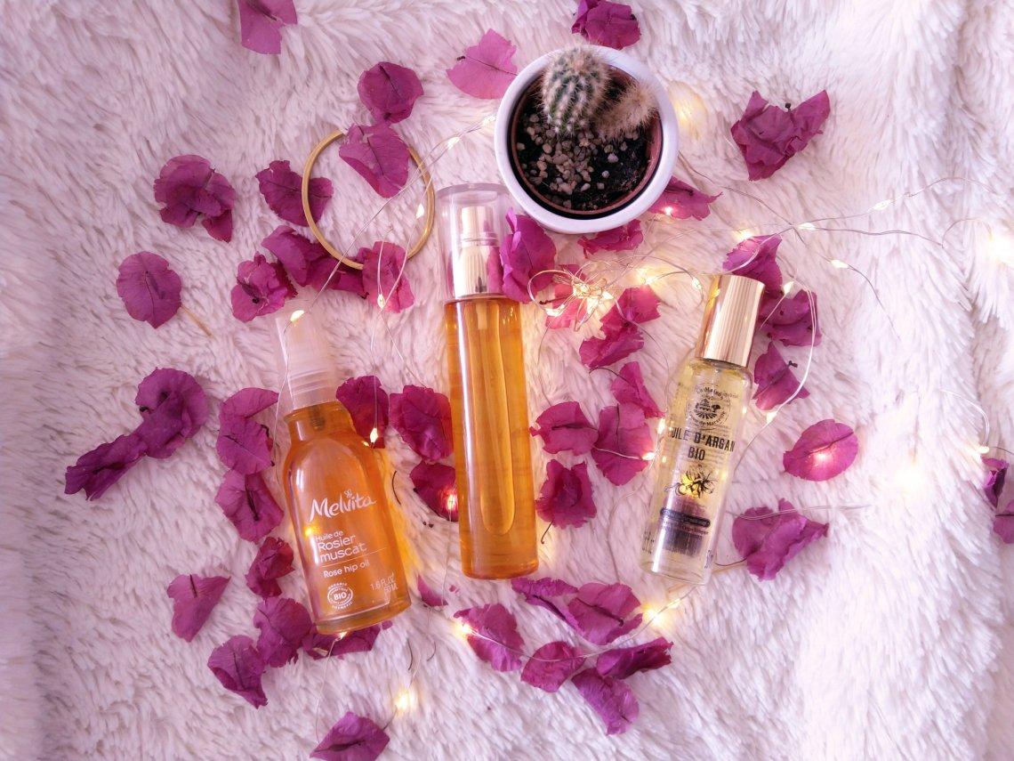 quelle est la meilleure huile végétale pour le visage - Peau mixte, peau grasse et peau sèche
