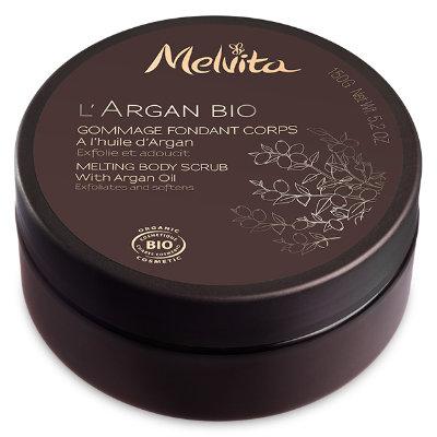 Melvita gommage- astuce beauté pour prolonger son bronzage - Mon peau de crème- Emonoé