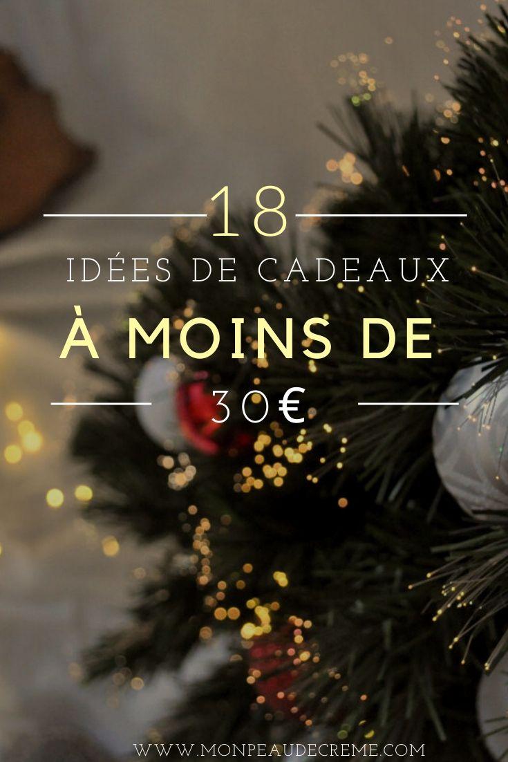 Idées cadeaux moins de 30€ - Mon peau de crème - Émonoé - Blogueuse Lyonnaise - Ateliers beauté & maquillage- Lyon- EVJF