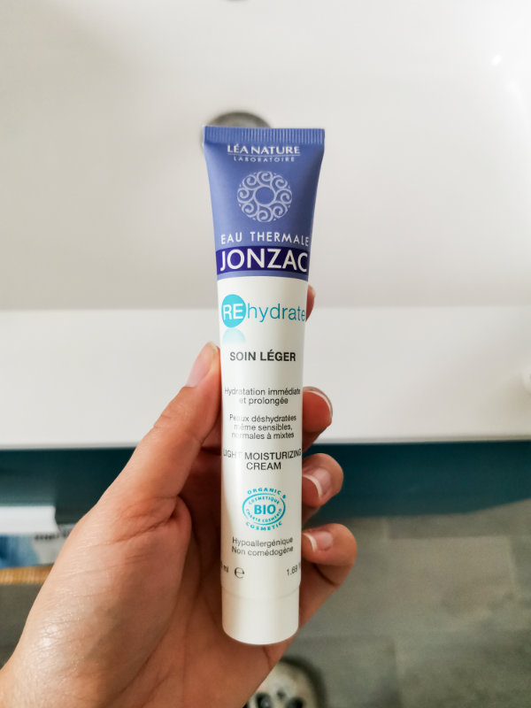 Routine à moins de 30€ - Produits de soins pas cher - Mon peau de crème - Crème hydratante peau mixte et grasse- Jonzac