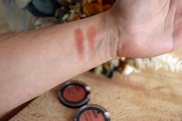 Blush corail et rosé peau claire - Bio - Test et avis - Avril cosmétique - Mon peau de crème Emonoé