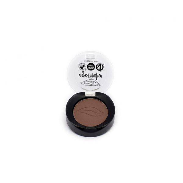 Fard à paupière marron mat - coffret maquillage personnalisé - Mon peau de crème Emonoé - Purobio