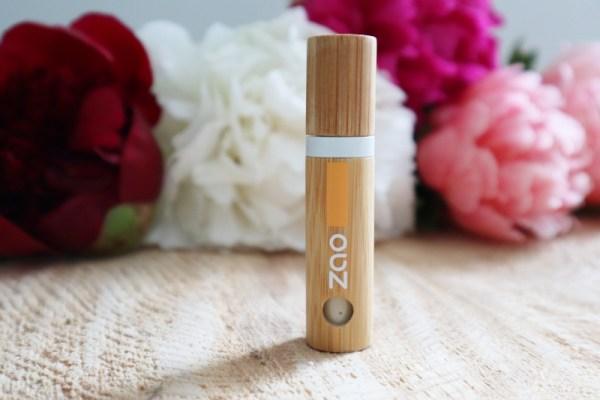 Base pour fards à paupières - bio - vegan- intensifie le fard - Zao makeup - Mon peau de crème Emonoé