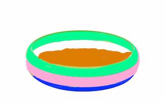Assiette de purée