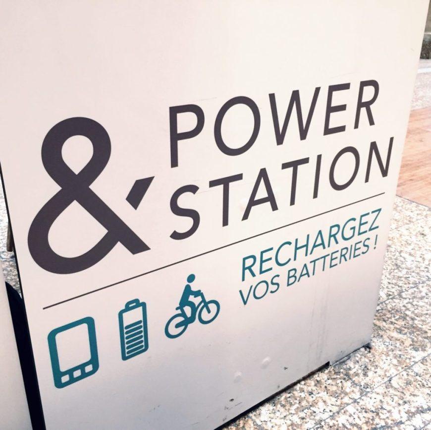 Un WEBike pour recharger ses batteries en gare de Bordeaux