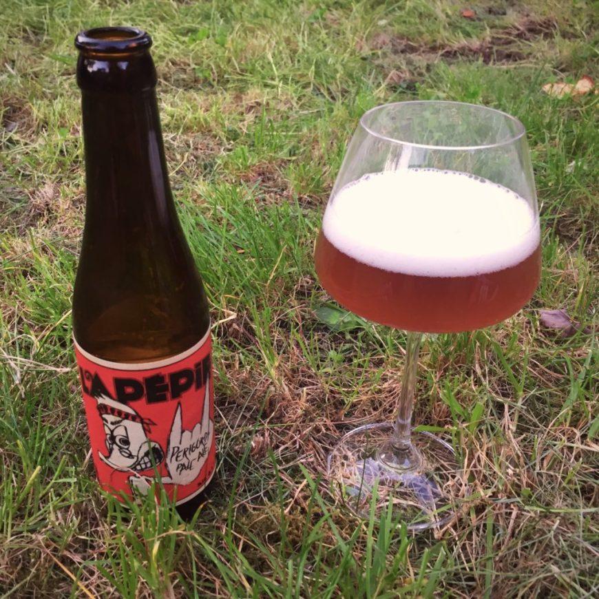 Bière Lapépie, une blonde Pale Ale artisanale du Périgord