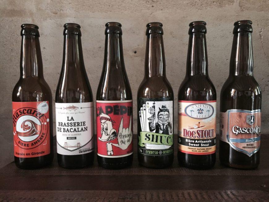 6 bières artisanales de Bordeaux et d'Aquitaine