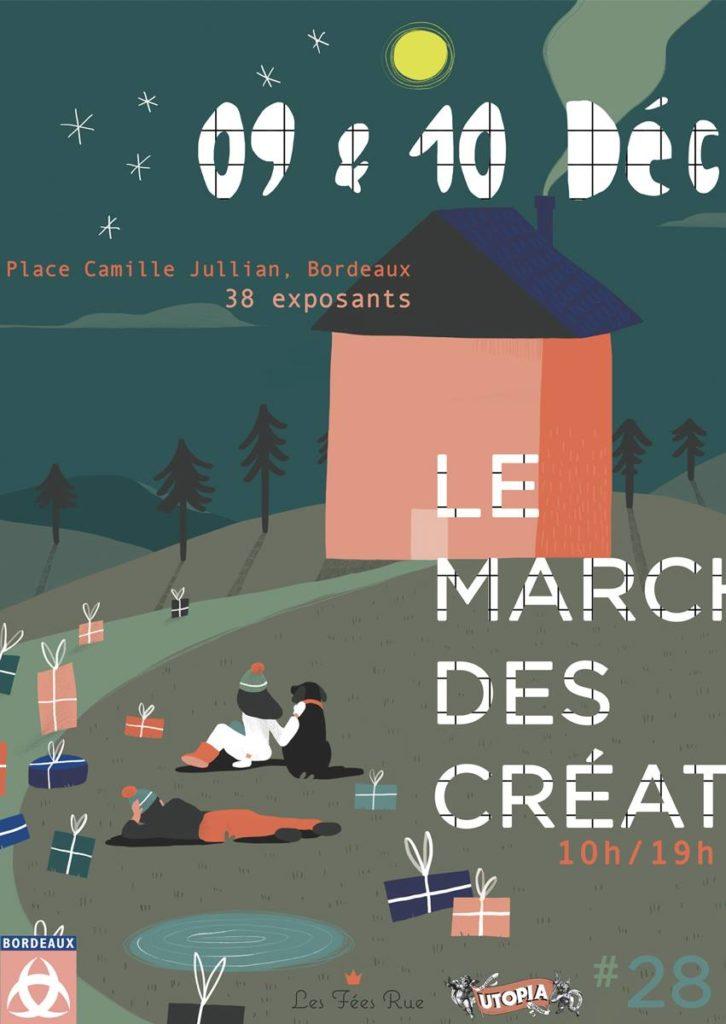 Marché des créateurs de Camille Jullian Bordeaux 2017