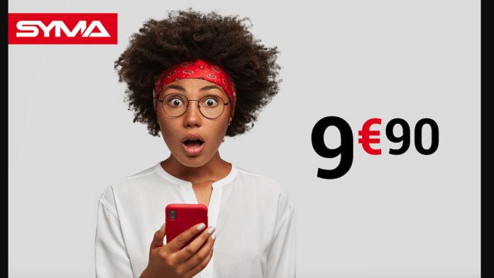 Syma Mobile displays a cheap 40 GB data plan