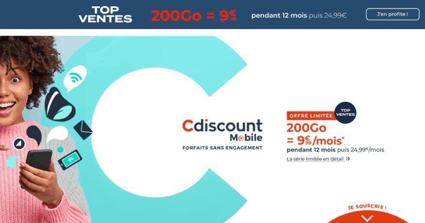 Cdiscount 200 Go