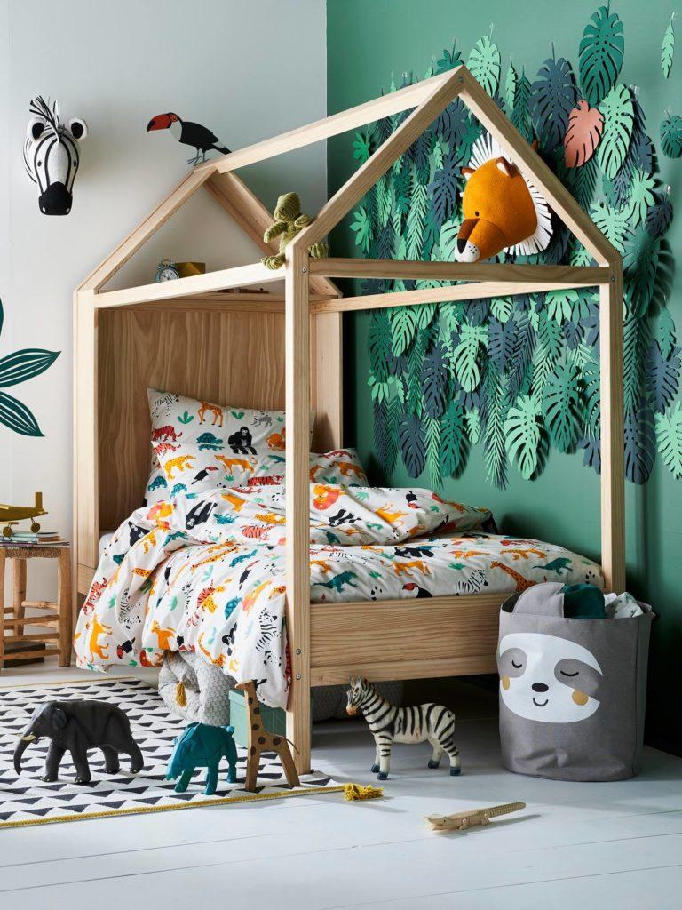 chambre enfant une chambre jungle