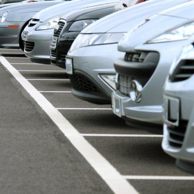 City Parking Permits Cars Photo