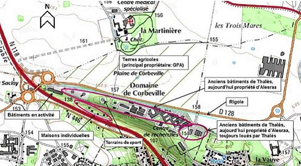 Plan Secteur Corbeville