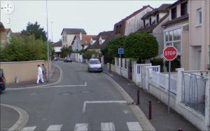 Rue Victor Hugo depuis Google Street View