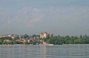Lac d'annecy vue Château