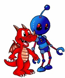 Dragon and Robot copy