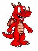 dragon in colour copy