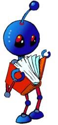 Robot reads