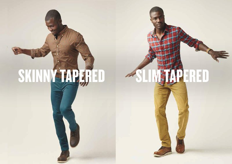 difference chino slim et skinny