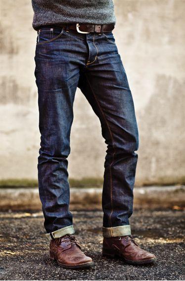 jeans brut délavé