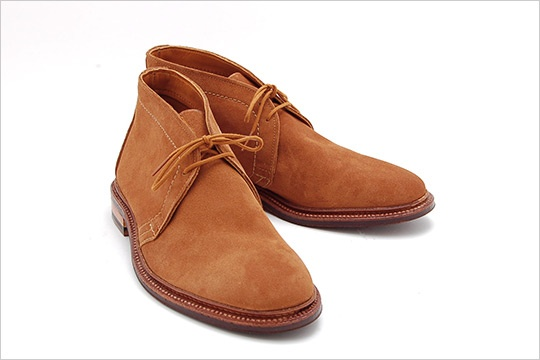 Chaussures chukkas suede marron