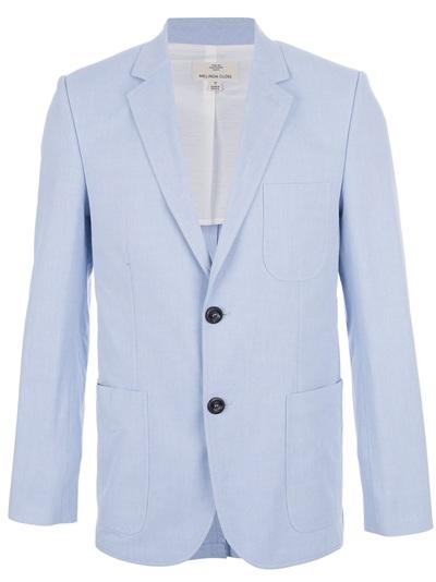 blazer bleu melinda gloss