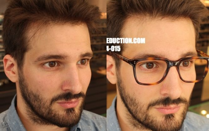 relooking lunettes hommes d'Influence