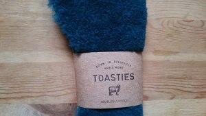 cover image semelles laine verte Toasties Paris