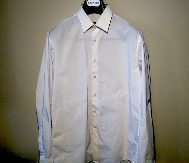 Défroissage chemise