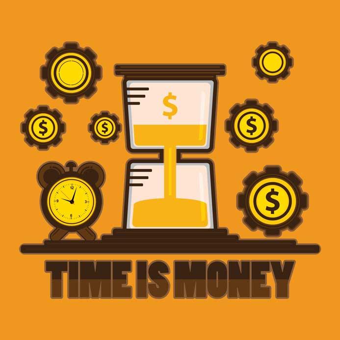Le temps est de l'argent