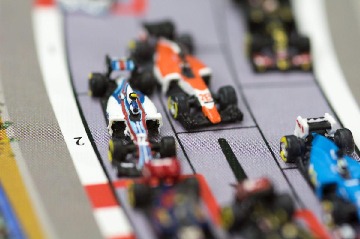 La Williams de Valtteri Bottas dans le trafic