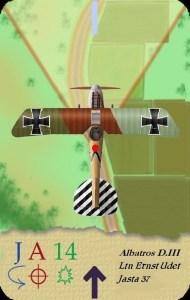 Albatros D.III Ernst Udet