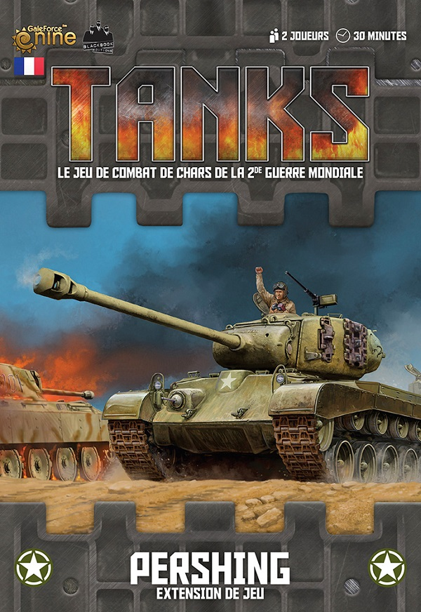 Tanks - Boîte d'extension Pershing