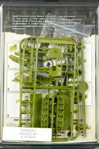 Tanks -Cromwell dos de la boîte