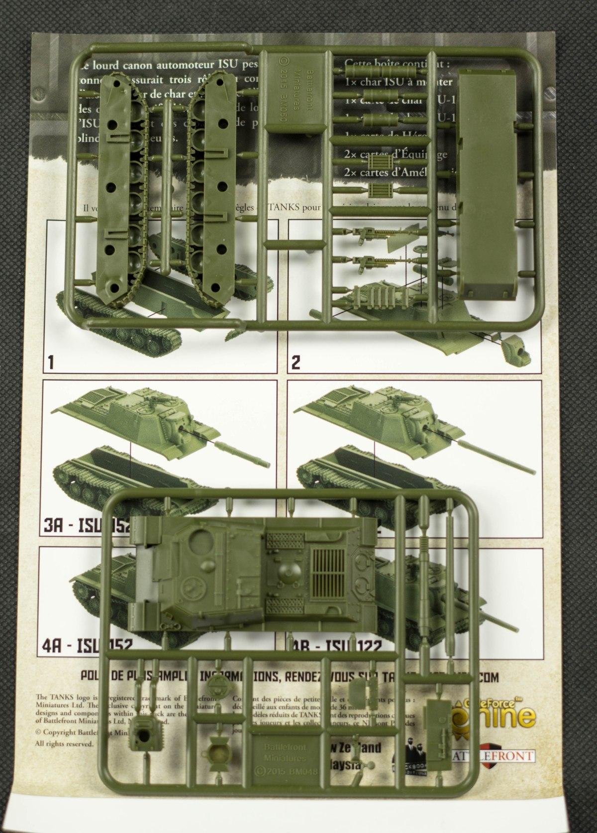 Tanks - Grappes de l'ISU-152