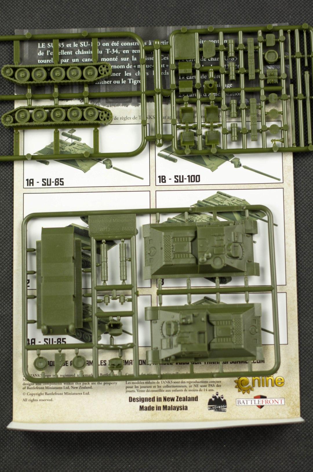 Tanks - Grappes du SU-100