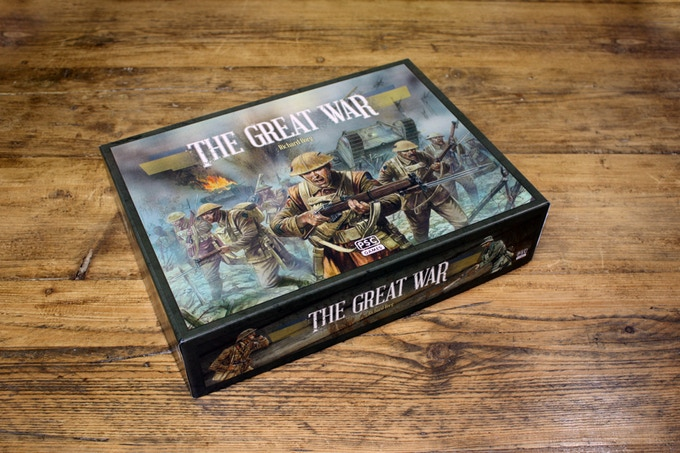 The Great War - La boîte du jeu