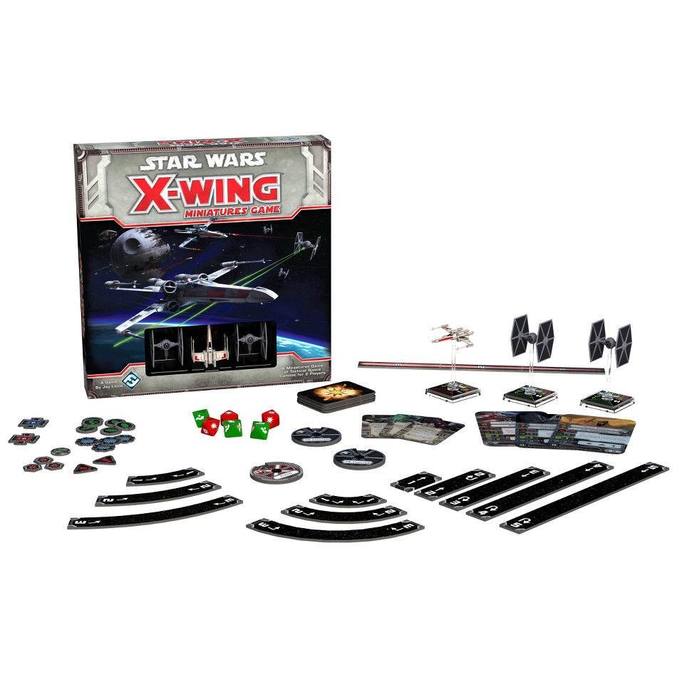 Star Wars : X-Wing - Contenu de la boîte de base