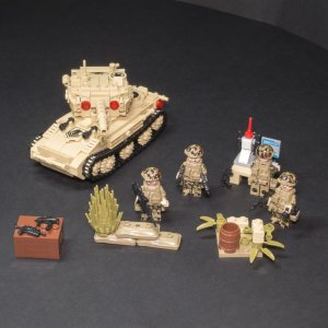 Kit de tanks 4 en 1 - 642 pièces