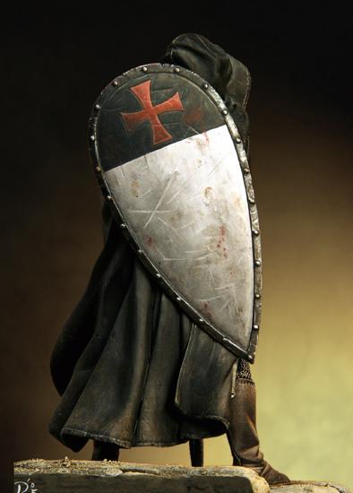 Sergent Templier du XIIIe siècle  90 mm